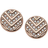 ear-rings woman jewellery Fossil Vintage Glitz JF02745791