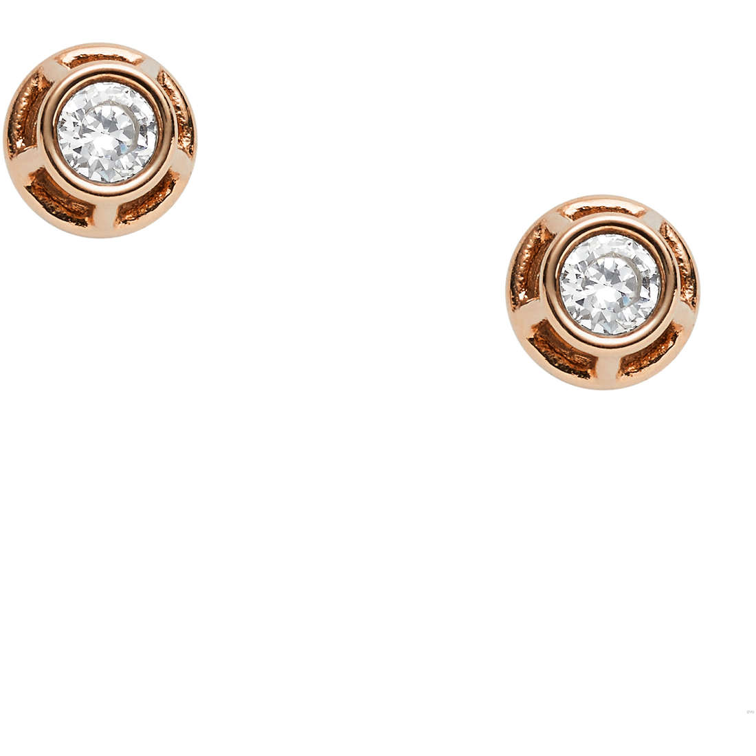 ear-rings woman jewellery Fossil Vintage Iconic JF02412791