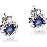ear-rings woman jewellery GioiaPura GPSRSOR1239-BL