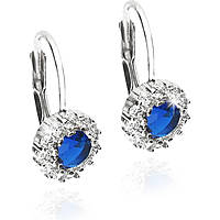 ear-rings woman jewellery GioiaPura GPSRSOR1548-BL