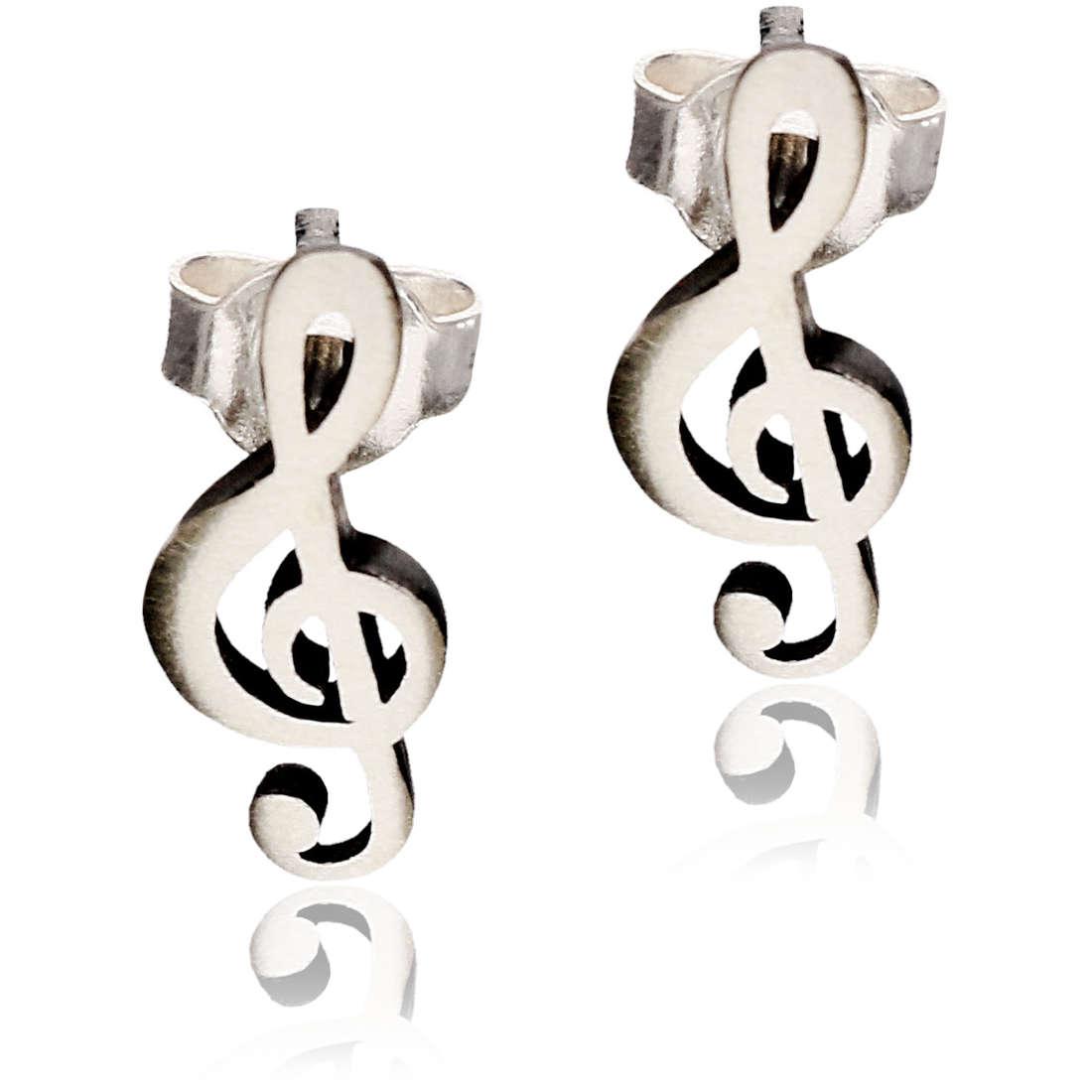 ear-rings woman jewellery GioiaPura GPSRSOR1854