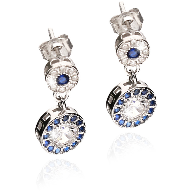 ear-rings woman jewellery GioiaPura GPSRSOR2303-BL