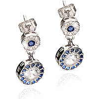 ear-rings woman jewellery GioiaPura GPSRSOR2303-BL