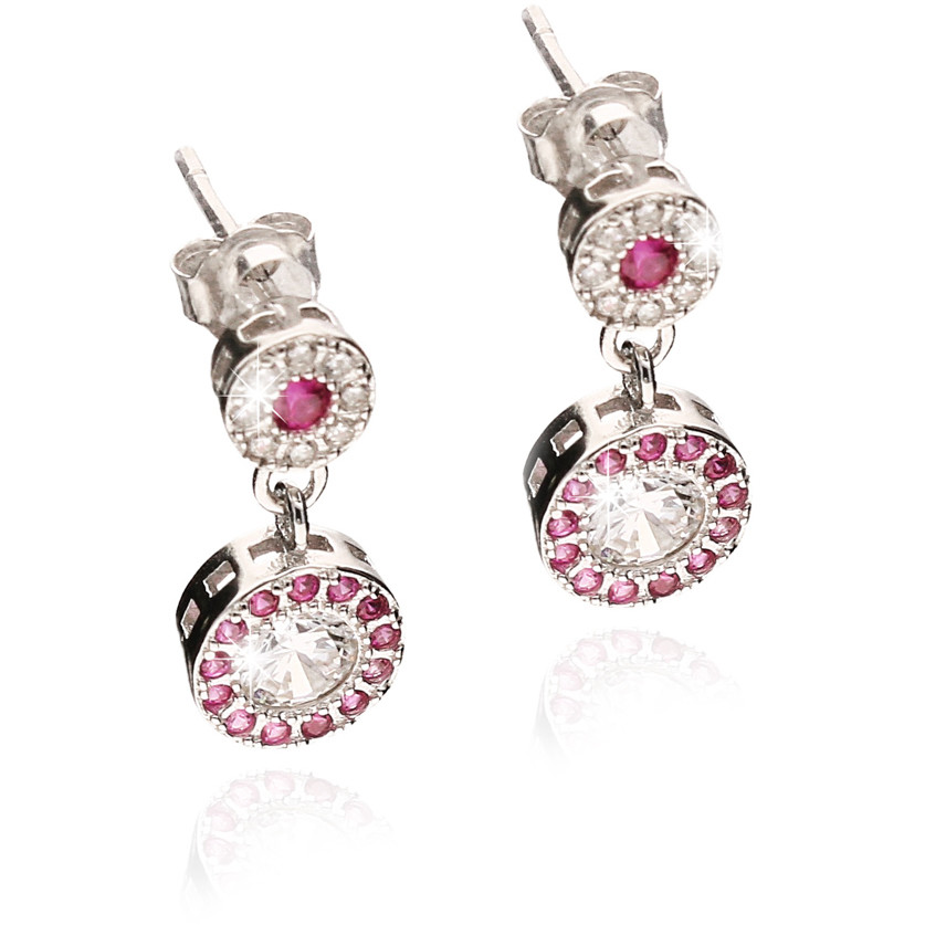 ear-rings woman jewellery GioiaPura GPSRSOR2303-RO