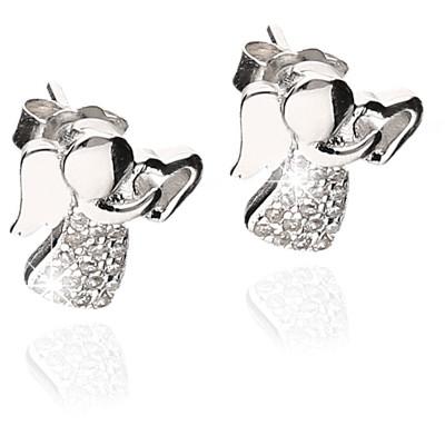 ear-rings woman jewellery GioiaPura GPSRSOR2458-R