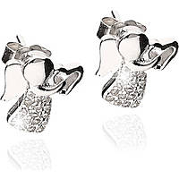 ear-rings woman jewellery GioiaPura GPSRSOR2458-R