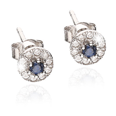 ear-rings woman jewellery GioiaPura GPSRSOR2485-BL