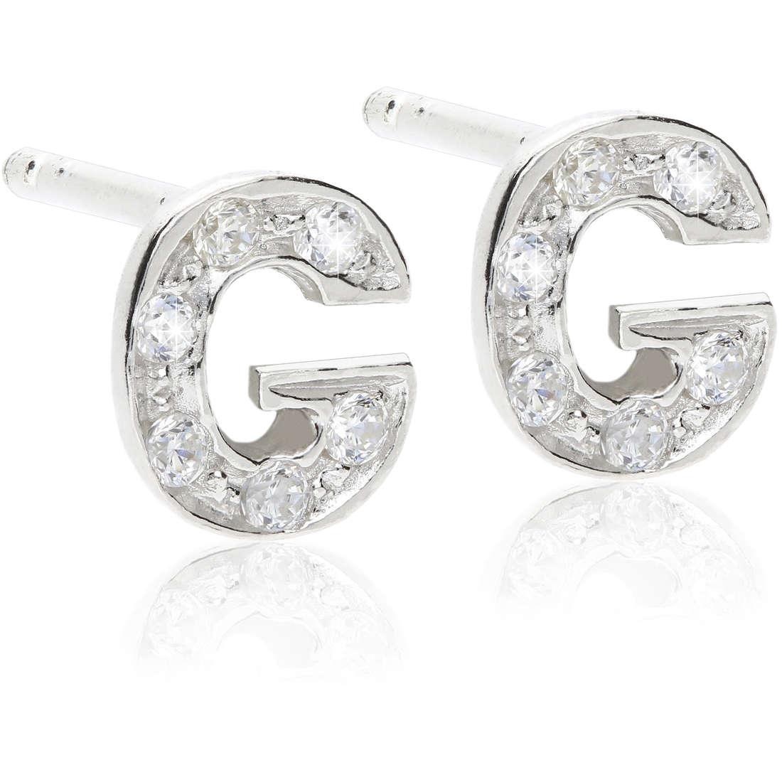 ear-rings woman jewellery GioiaPura WOR0001GDL