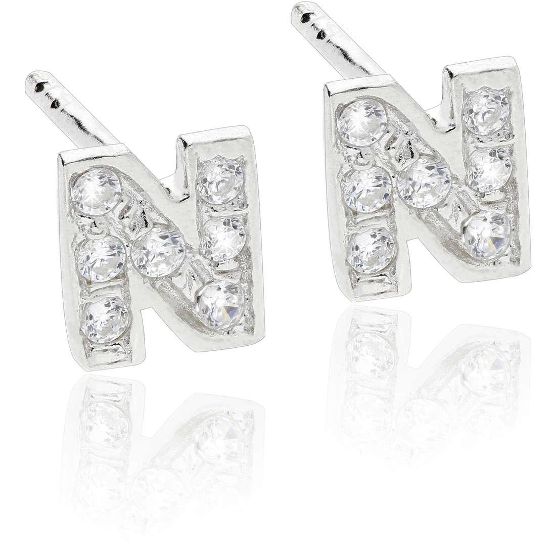 ear-rings woman jewellery GioiaPura WOR0001NDL