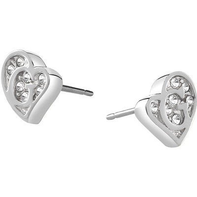 ear-rings woman jewellery Guess G Hearts UBE71523