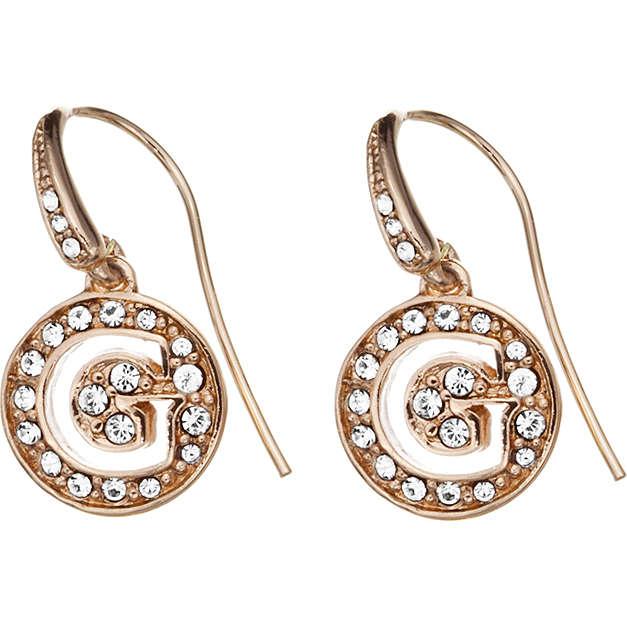 ear-rings woman jewellery Guess Rose Gold UBE51428