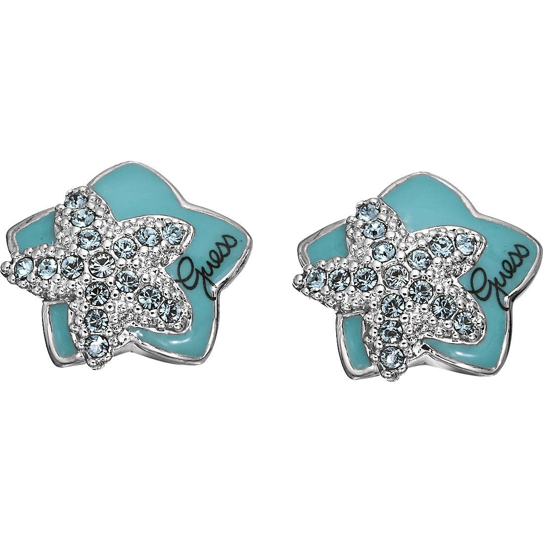 ear-rings woman jewellery Guess UBE41201