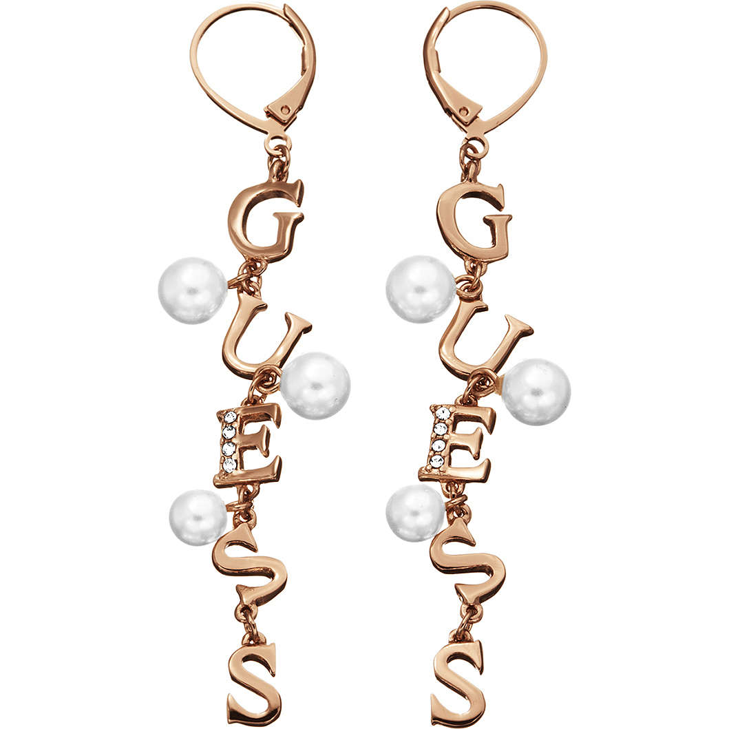 ear-rings woman jewellery Guess YOUNG CONTRASTS UBE51453