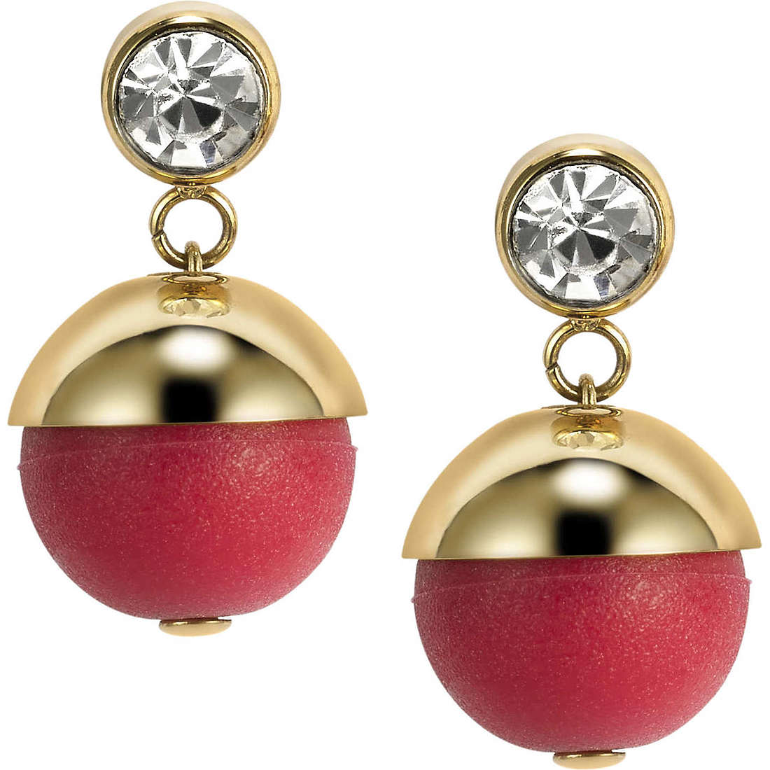 ear-rings woman jewellery Hip Hop Bon Bon HJ0235