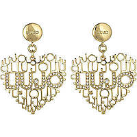 ear-rings woman jewellery Liujo Brass LJ825