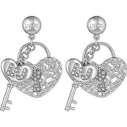 ear-rings woman jewellery Liujo Brass LJ842