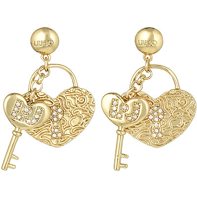 ear-rings woman jewellery Liujo Brass LJ845