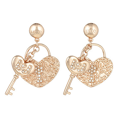 ear-rings woman jewellery Liujo Brass LJ848