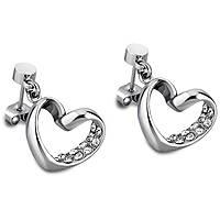 ear-rings woman jewellery Lotus Style Woman'S Heart LS1707-4/1