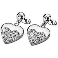 ear-rings woman jewellery Lotus Style Woman'S Heart LS1769-4/1