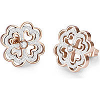ear-rings woman jewellery Luca Barra Be Happy OK876