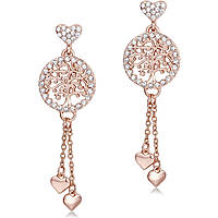ear-rings woman jewellery Luca Barra Be Happy OK883