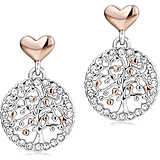 ear-rings woman jewellery Luca Barra Be Happy OK884