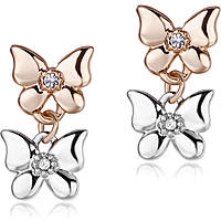 ear-rings woman jewellery Luca Barra Be Happy OK887