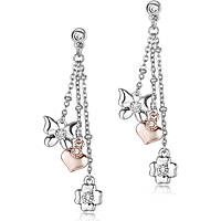 ear-rings woman jewellery Luca Barra Be Happy OK888