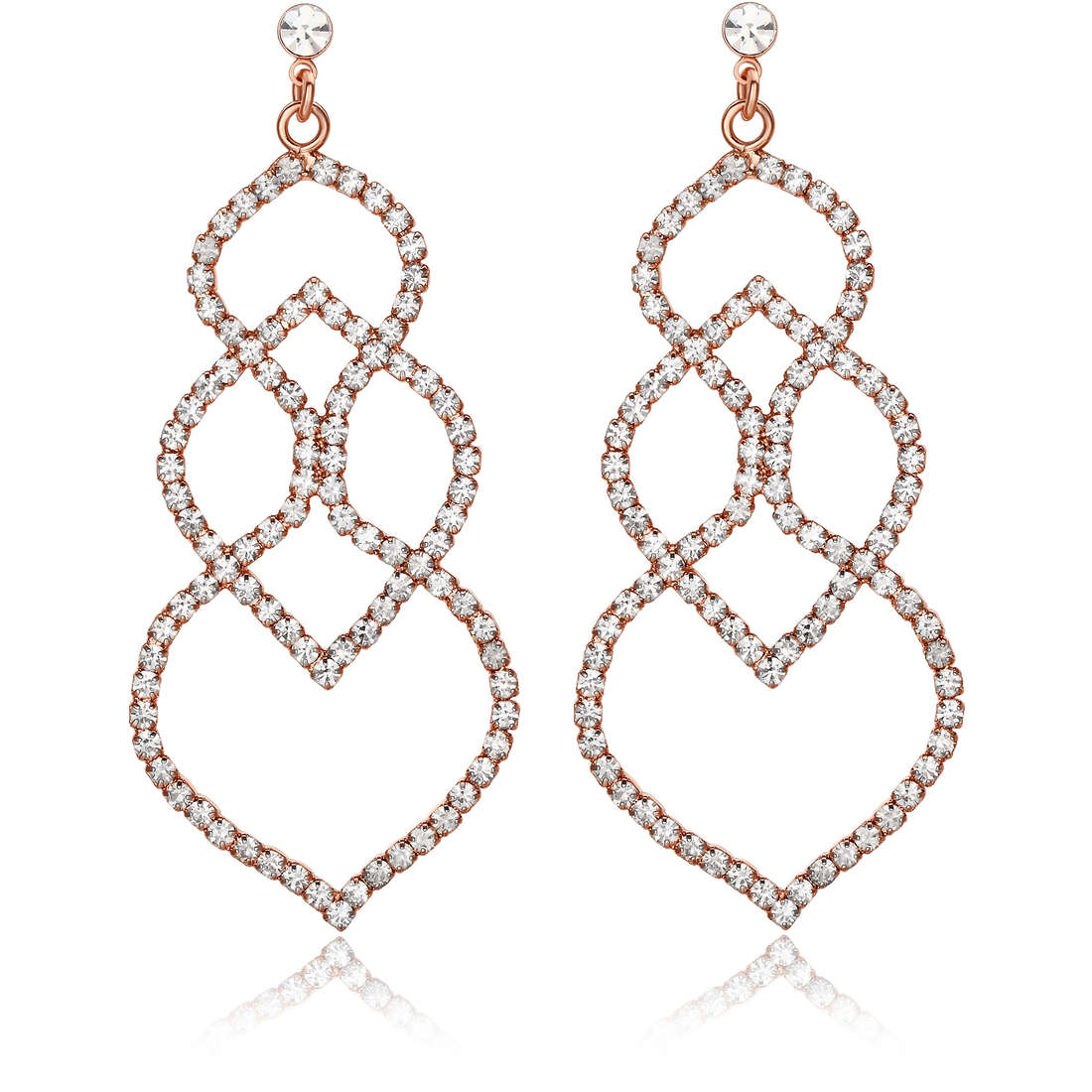 ear-rings woman jewellery Luca Barra LBOK663