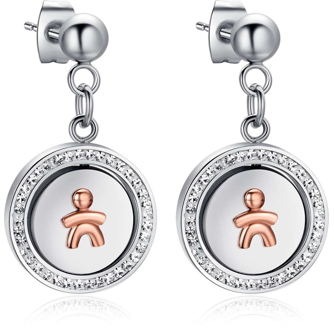 ear-rings woman jewellery Luca Barra LBOK779