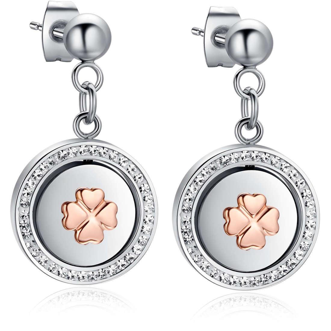 ear-rings woman jewellery Luca Barra LBOK780
