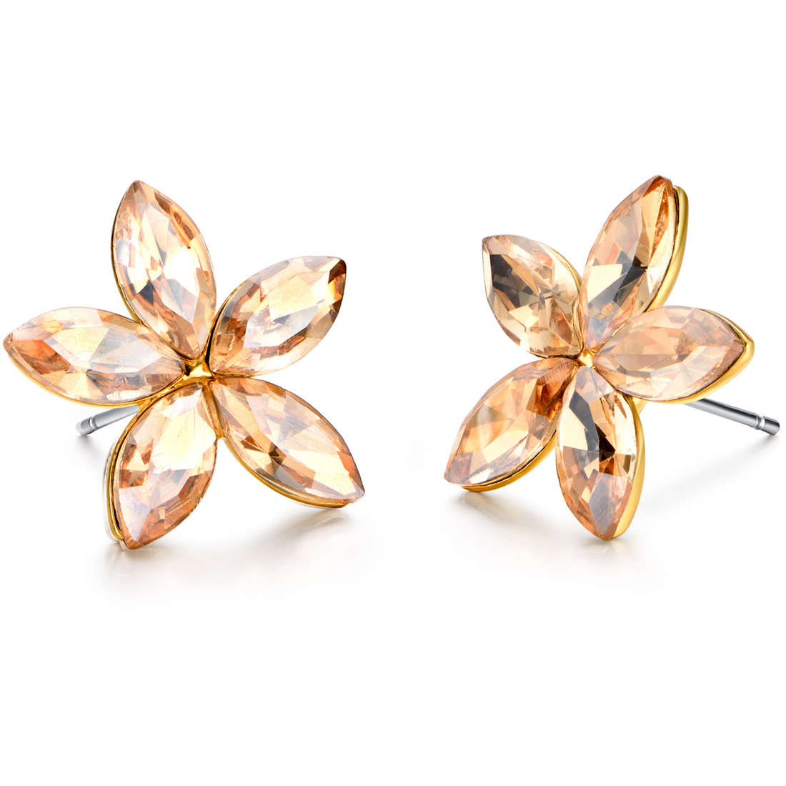 ear-rings woman jewellery Luca Barra LBOK789