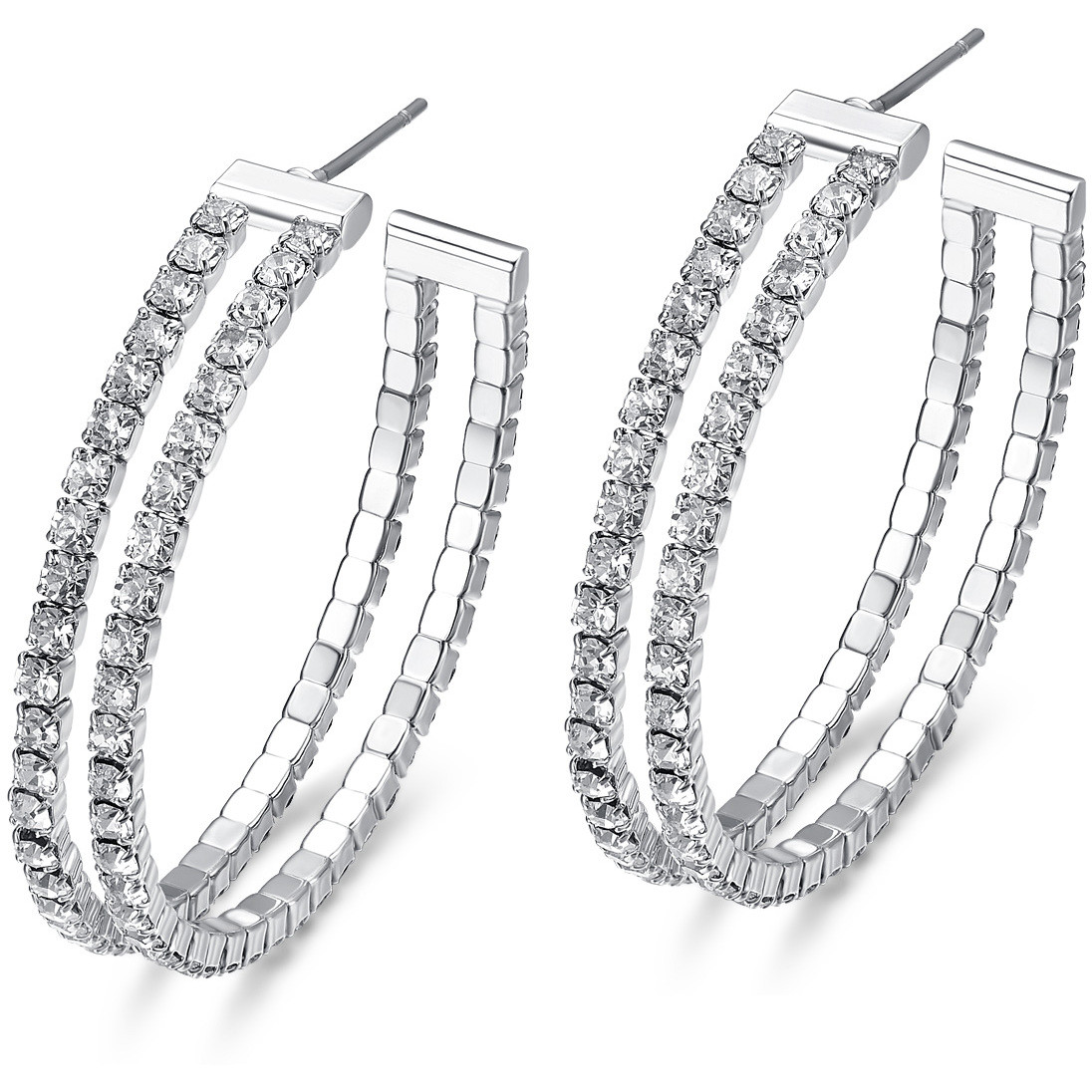 ear-rings woman jewellery Luca Barra LBOK799
