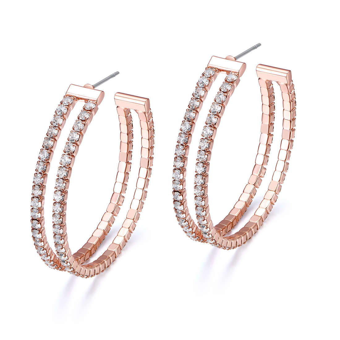 ear-rings woman jewellery Luca Barra LBOK800