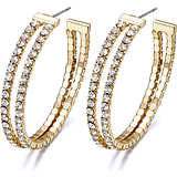 ear-rings woman jewellery Luca Barra LBOK801
