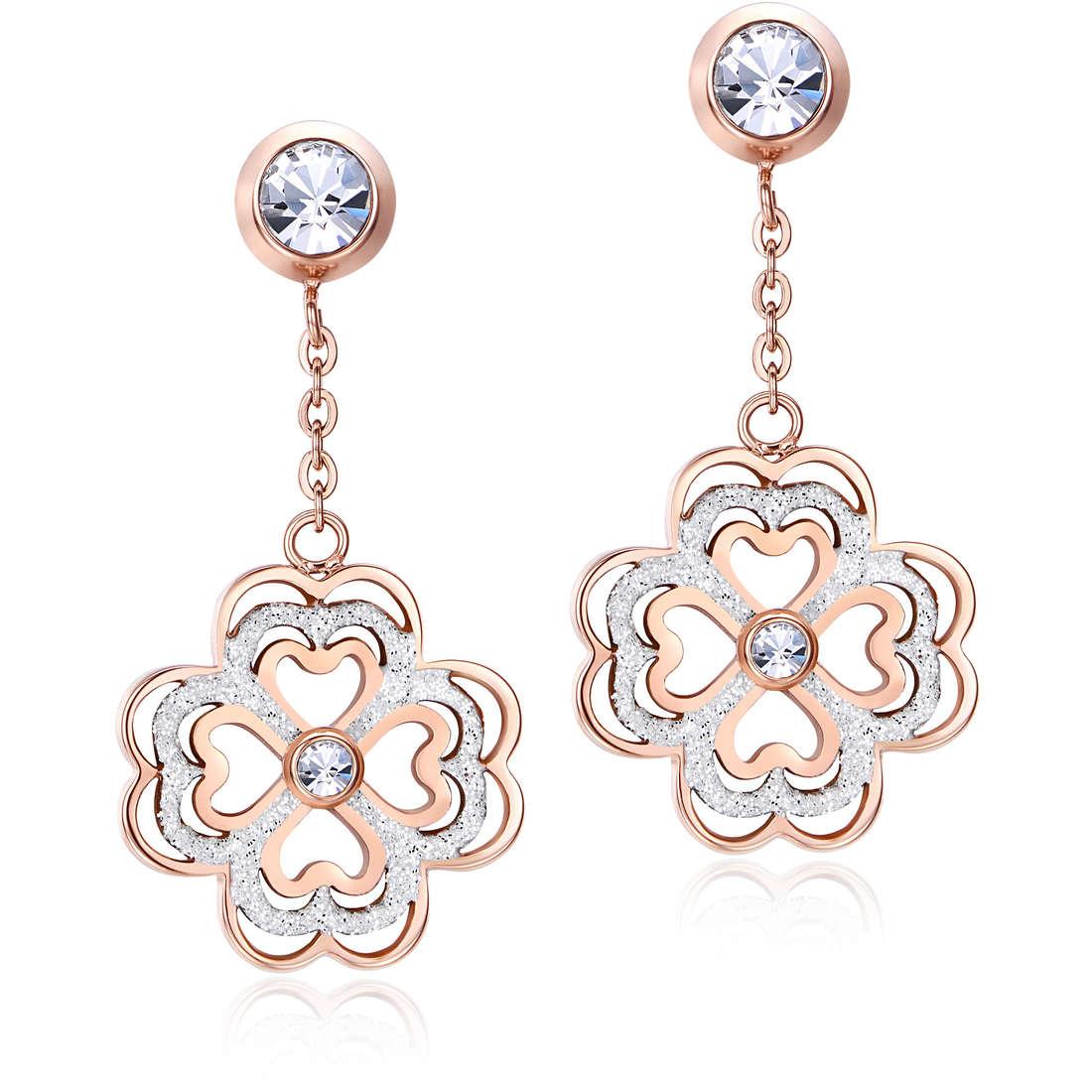 ear-rings woman jewellery Luca Barra LBOK812