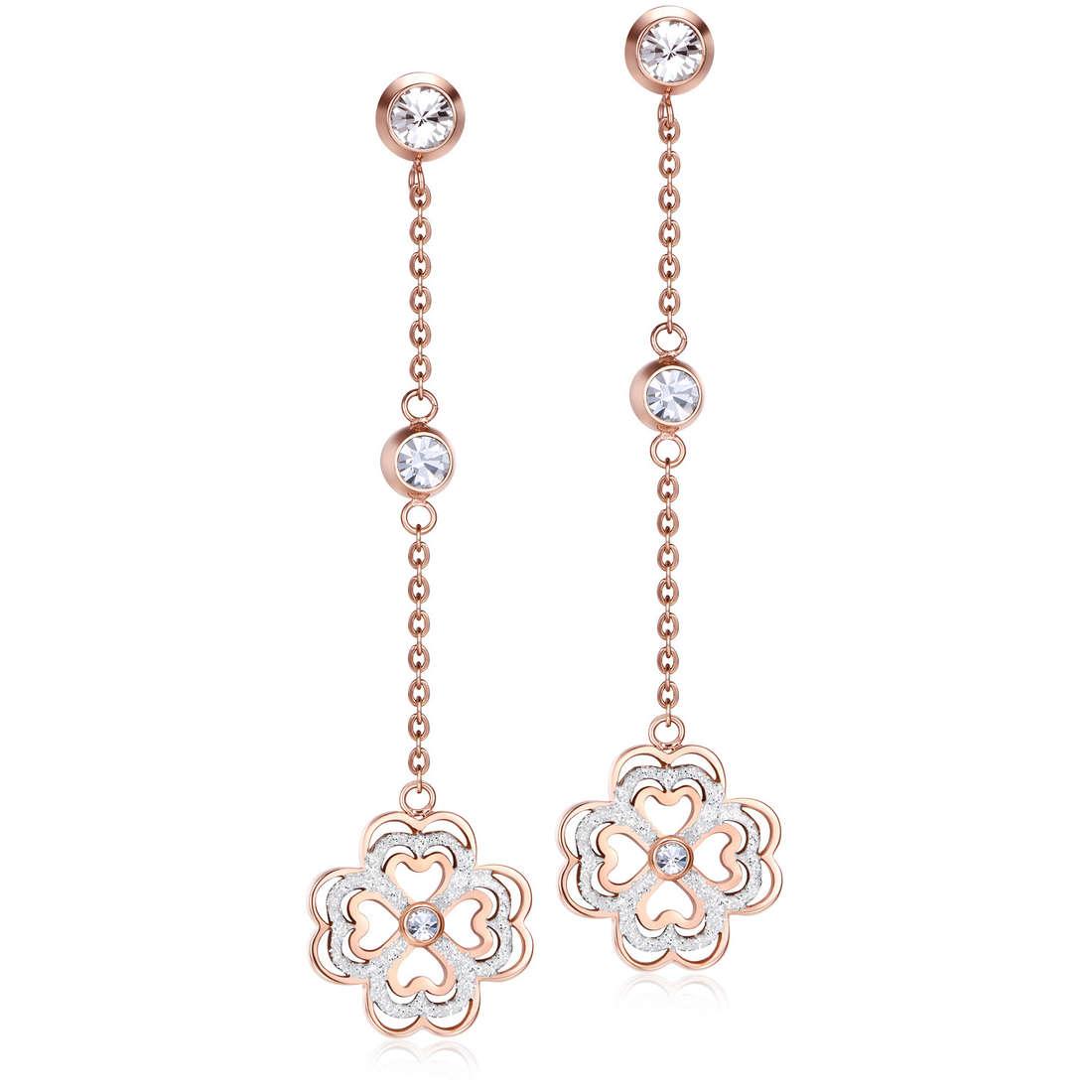 ear-rings woman jewellery Luca Barra LBOK814