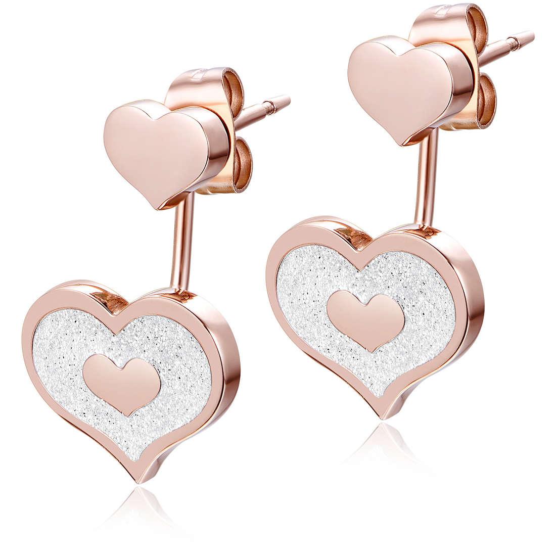 ear-rings woman jewellery Luca Barra LBOK837
