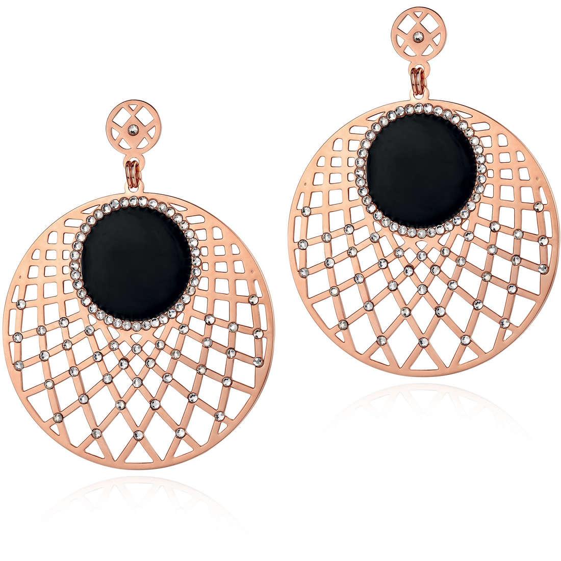 ear-rings woman jewellery Luca Barra Mia LBOK722