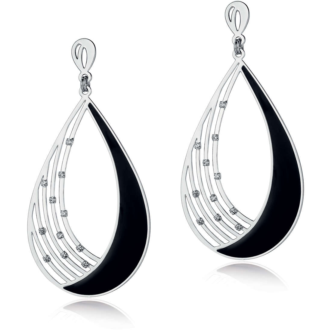 ear-rings woman jewellery Luca Barra Nora LBOK724