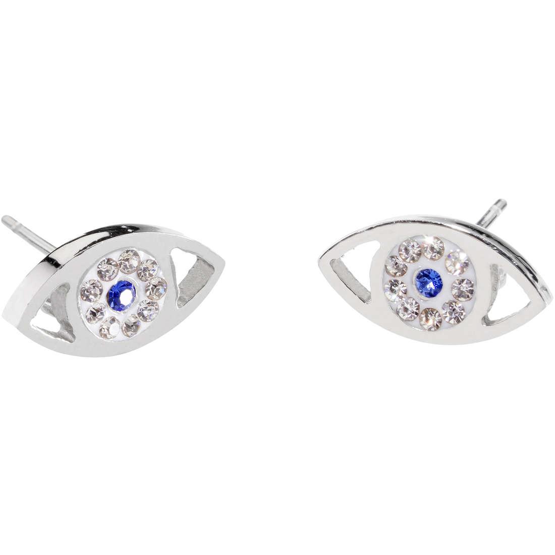 ear-rings woman jewellery Marlù Mano Di Fatima 14OR024