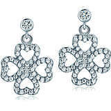 ear-rings woman jewellery Melitea Good Luck MO108