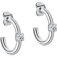 ear-rings woman jewellery Morellato Cerchi SAKM25