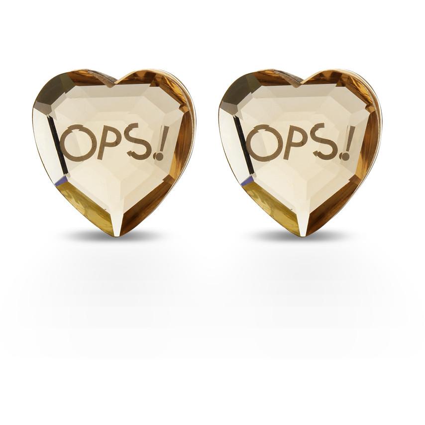 ear-rings woman jewellery Ops Objects Shiny OPSOR-424