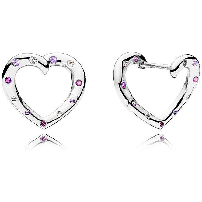 f6d3d17de25d ear-rings woman jewellery Pandora 297231NRPMX earrings Pandora