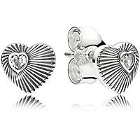 ear-rings woman jewellery Pandora Festival 297298cz