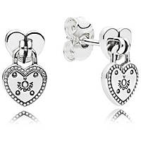 ear-rings woman jewellery Pandora Sigillo D'Amore 296575