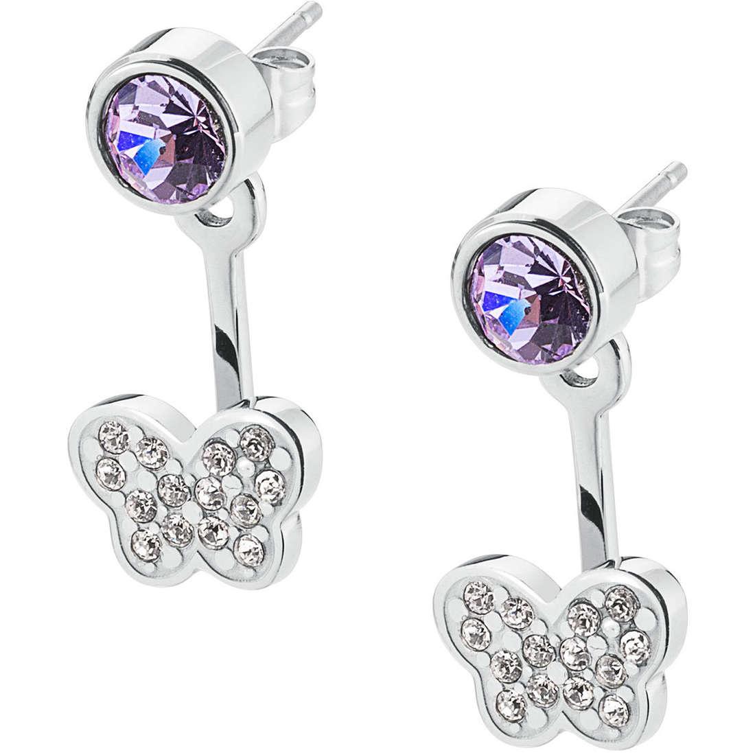 ear-rings woman jewellery Sagapò BUTTERFLY SSP22