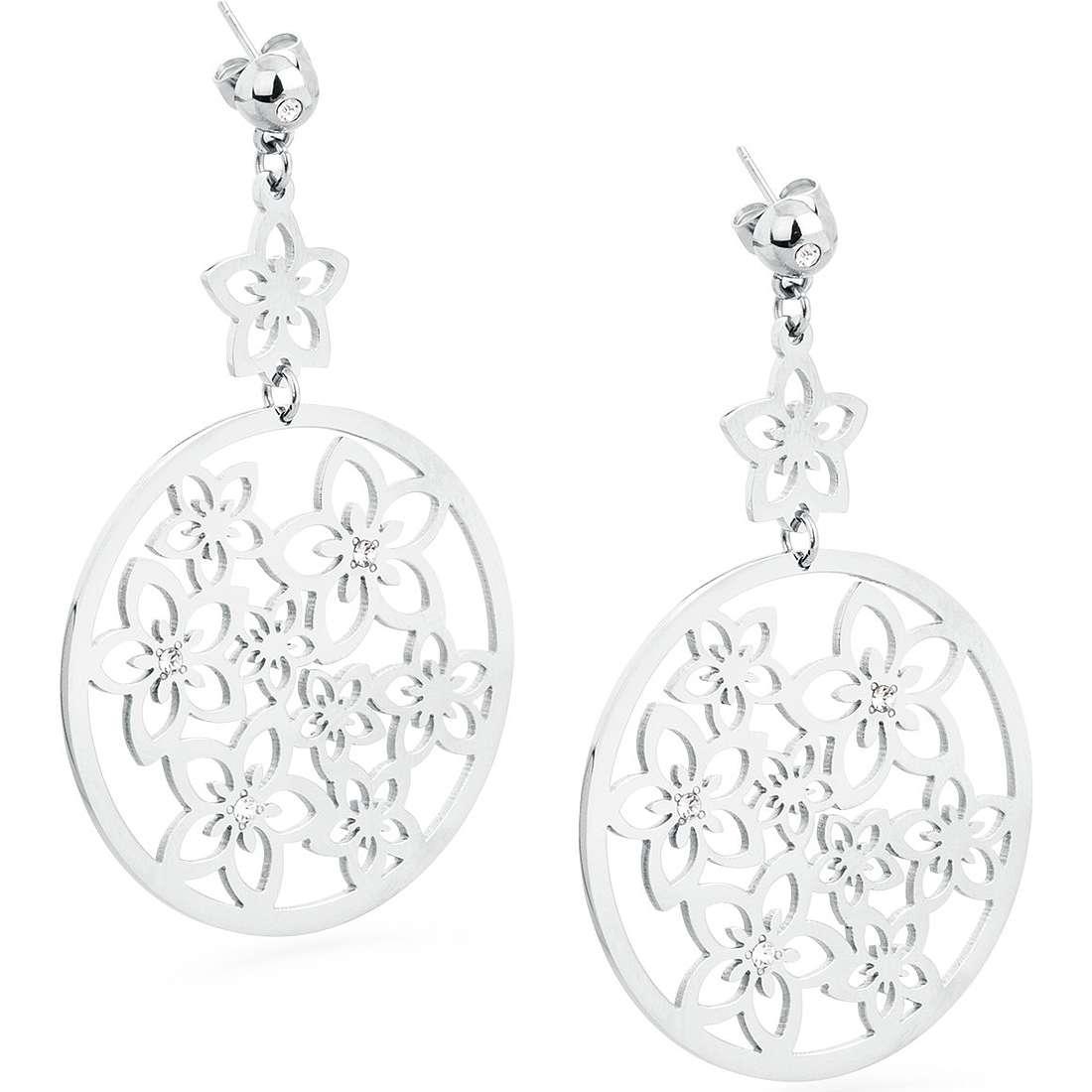 ear-rings woman jewellery Sagapò Flower SFL21